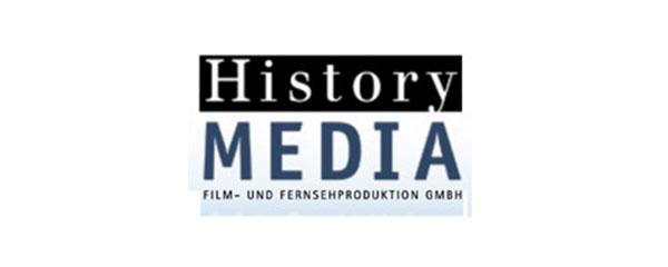 Logo History Media Film- und Fernsehproduktion GmbH
